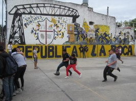 La Boca is home to a formidable futbol team that's inspired generations of kids.