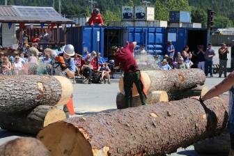Chainsaw Competition. What could go wrong?